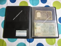 pocket photo album banknote paper money album for 60 notes all 2 pocket pages