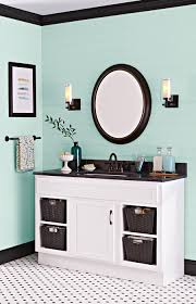refresh a bathroom vanity