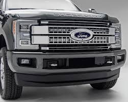 f250 led light bar z415371 kit t rex zroadz led upper grill mounting kit with 2 10