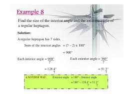 What Is The Interior Angle Of A Regular Decagon Chapter 2 Polygons Ii Compatibility Mode
