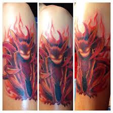 images naruto nine tailed fox tattoo