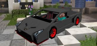 lamborghini veneno sports car lamborghini veneno add on minecraft pe mods addons