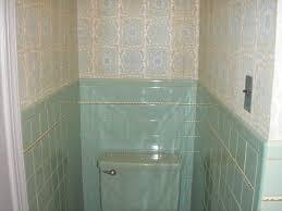 aqua bathroom retro renovation