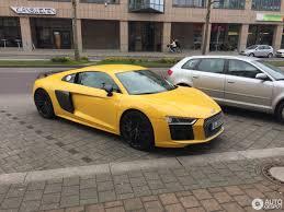 Audi R8 Yellow - audi r8 v10 plus 2015 8 may 2017 autogespot