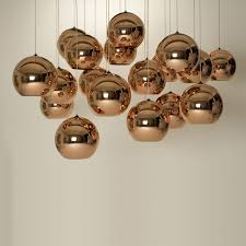 copper pendant lamp by tom dixon in the shop
