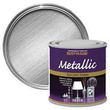 rust oleum rust oleum silver metallic metallic paint 250 ml