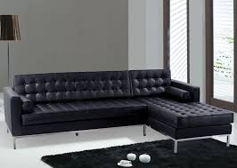 Cheap Black Leather Sectional Sofas by Furniture High Quality Cozy Looked Leather Sectional Sofa For
