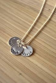 necklace for with children s names children s name charms 5 letters stylish disc customize tag