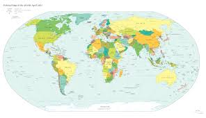 Map Of The World Poster by Weltkarte Poster U2013 World Map Weltkarte Peta Dunia Mapa Del