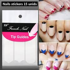 manicure tip guides sticker nz buy new manicure tip guides