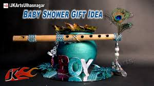 diy baby shower gift idea on krishna god theme how to make jk
