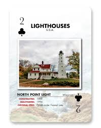 lighthouses cards