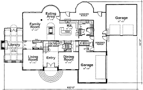 georgian home plan with third floor attic 40459db