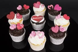 personalised cupcakes personalised valentines day cupcakes valentines day gifts