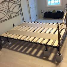 How To Make A Queen Size Platform Bed Frame by Foundation For Queen Size Memory Foam Bed From Basic Frame 5 Steps