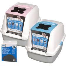 pioneer pet smartcat scoop u0026 big corner cat litter box