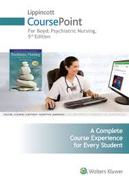 coursepoint for boyd psychiatric nursing