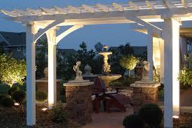 pergola design amazing hanging lights for pergola external patio