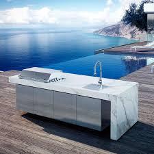 fesfoc kauai island luxury outdoor kitchen island bold modern design