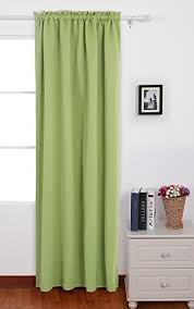 Curtains For Baby Room Deconovo Solid Color Rod Pocket Blackout Curtains Thermal