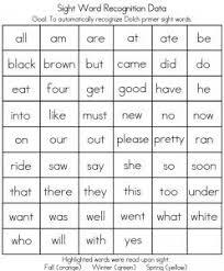19 best sight words images on pinterest kindergarten