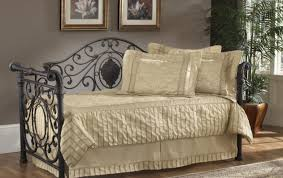 bed important black wrought iron daybed with trundle gratify