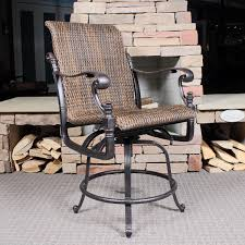Patio Chairs Bar Height Balcony Height Patio Furniture Home Site