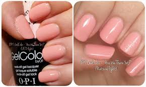 opi gel nail polish led light gelcolor by opi are we there yet pastel led light natural