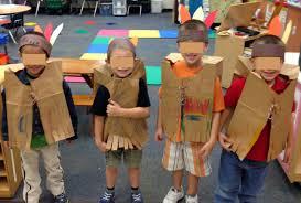 thanksgiving vest diy paper crafts paper bag vest craft