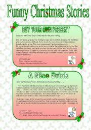 english teaching worksheets christmas stories
