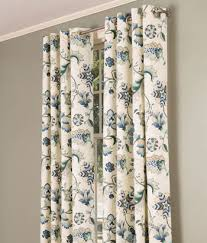 Jacobean Floral Curtains Jacobean Floral Lined Grommet Top Curtains 260 280 Bedroom