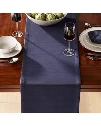 Navy Table L Big Deal On Crate Barrel Grasscloth Navy Table Runner Table Runners