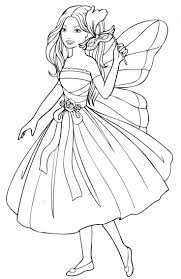 166 best coloring pages fairies images on pinterest coloring