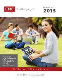 emc world languages 2015 catalog by emc publishing issuu