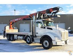 custom kenworth for sale 2017 atlas 280 2 mounted on a kenworth t880 crane for sale in