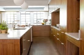 Wood Veneer For Kitchen Cabinets by The New Kitchen Design Trend Wood Minimalism Wsj
