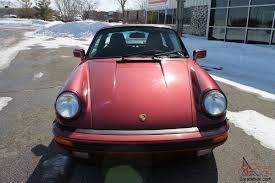 pink porsche 911 porsche 911 targa g50 velvet red 86 075 miles no reserve