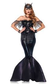 mermaid costume black mermaid costume costumes for women online