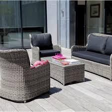 canap fauteuils salon resine tressee gris cool salon de jardin fauteuil salon en