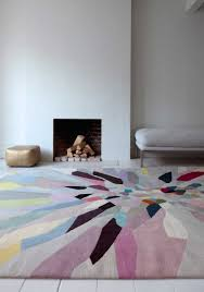 Modern Rug Company Zap By Fiona Curran Wool Contemporary Knotted Designer Rugs