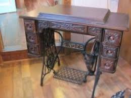 Singer Sewing Machine Cabinets by Cost To Ship Antique Singer Sewing Machine Cabinet 6 Side Drawe