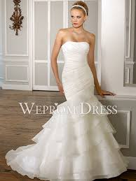 pear shaped ivory organza chapel train dropped waistline mermaid