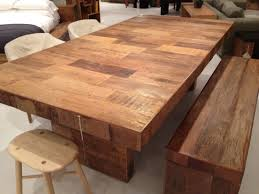 Dining Room Table Reclaimed Wood Dining Table Made From Reclaimed Peroba Rosa Wood From Brazil