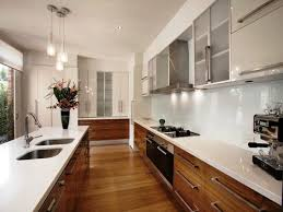 Galley Kitchen Renovation Ideas Kitchen An Excellent White Galley Kitchen Remodeling Ideas With