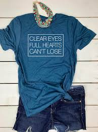 clear hearts can t lose football shirt