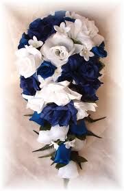 wedding flowers royal blue silk wedding flowers silk bridal bouquets