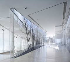 glass box architecture riverside clubhouse by tao