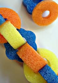 Pool Noodle Decorations Pool Party Decoration Ideas Pool Noodle Garland