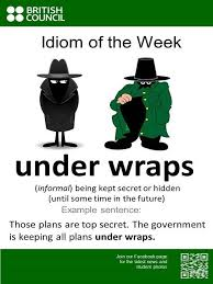 idiom of the week british council singapore idioms pinterest