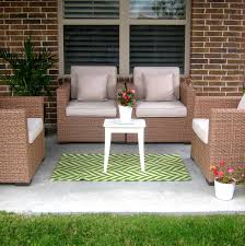 Resin Wicker Patio Furniture Target - decorating cozy blue target outdoor rugs with white patio